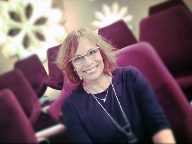 Sandra Moreyra, repórter da Globo