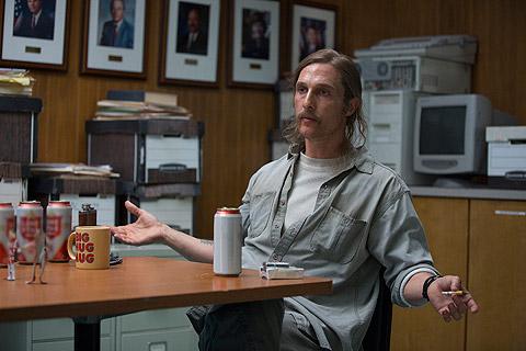 """Matthew McConaughey esteve na primeira temporada de """"True Detective"""""""