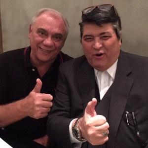 Marcelo Rezende e Datena esqueceram a disputa por audiência
