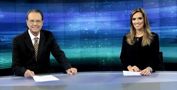"Hermano Henning e Karyn Bravo comandam o ""Jornal do SBT"""