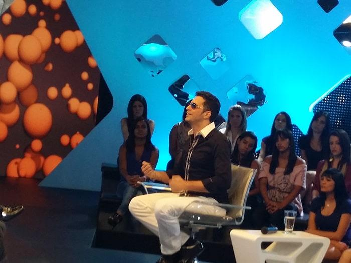 """Latino durante participação no """"Roberto Justus +"""""""