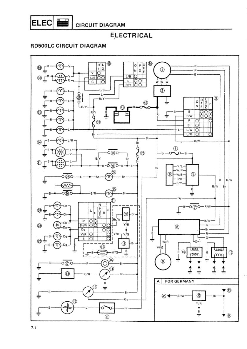Yamaha cdi wiring diagram powerking