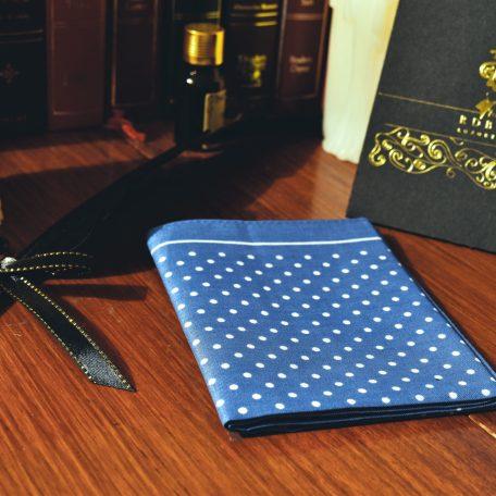 Sky blue pocket square handkerchief