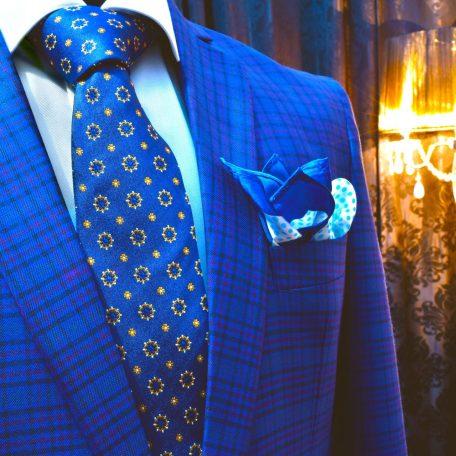 Luxusná pánska hodvábna kravata