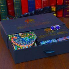 zábavný pánsky hovábny darčekový set Joker swarovski
