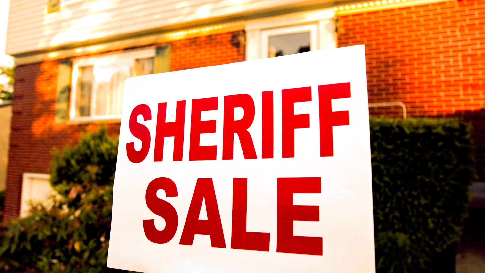 Sheriff's Sale