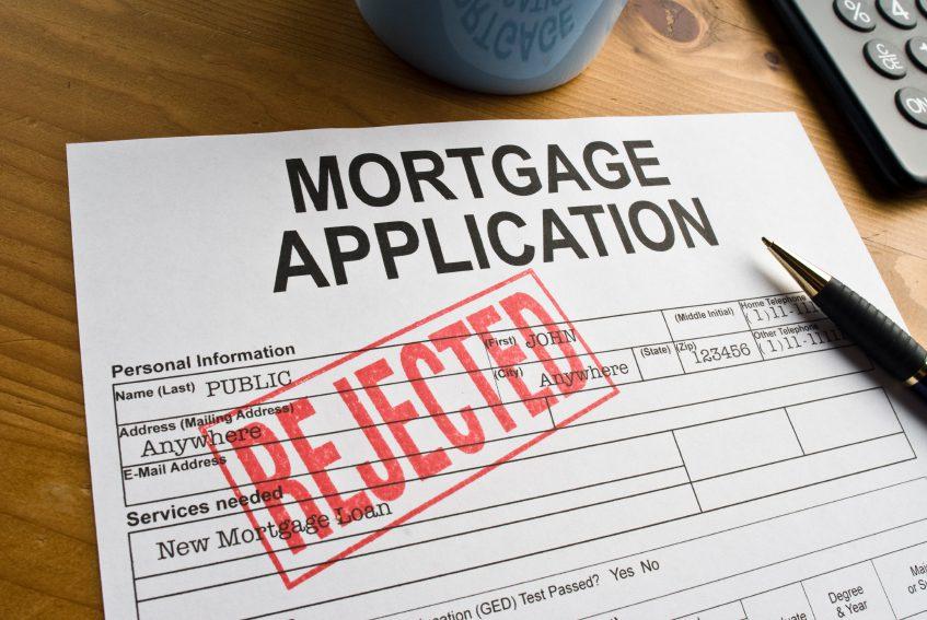 Image result for denied mortgage