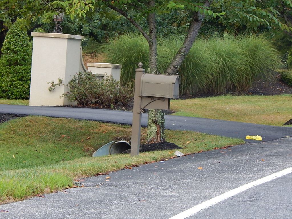 The infamous $500 mailbox that the Strongs refused to purchase.