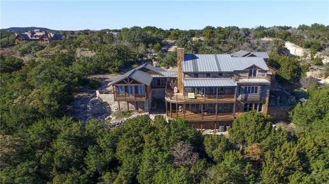 This lakeside cabin in Texas is massive