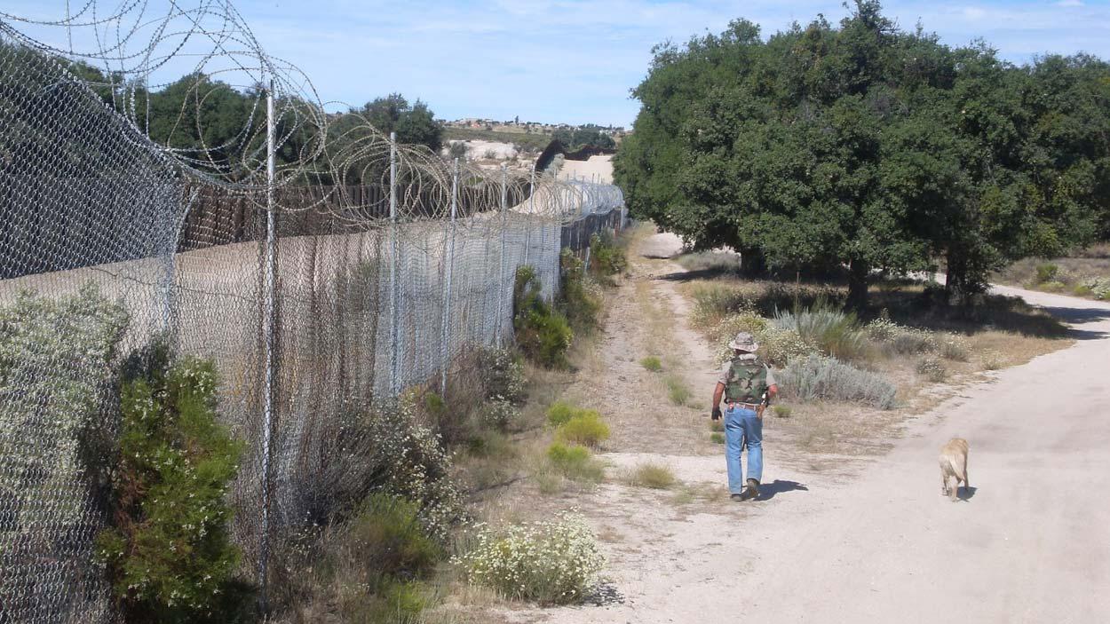 Rancher Bob Maupin patrols his property along the U.S.-Mexico border.