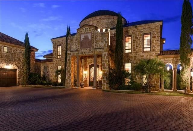 Metal rocker David Draiman's castle-like home