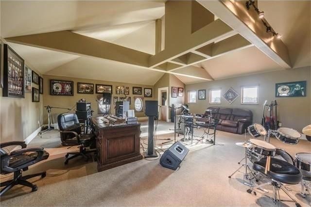 David Draiman's studio/office where the album Device was conceived and partially recorded