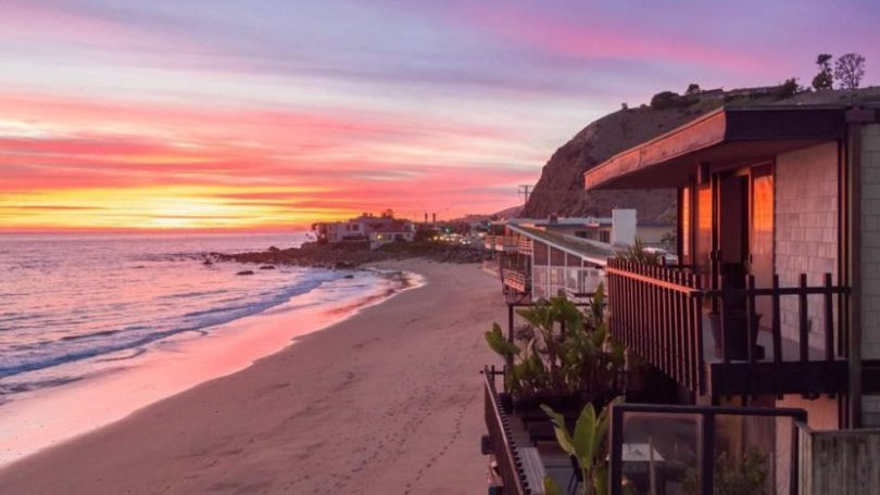 Stephen Dorff's Malibu, CA, beach house