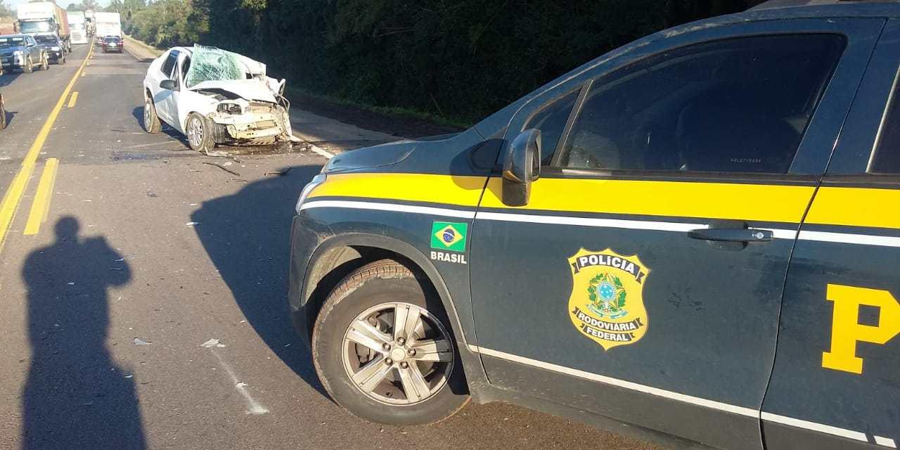 Homem morre em acidente na BR-116