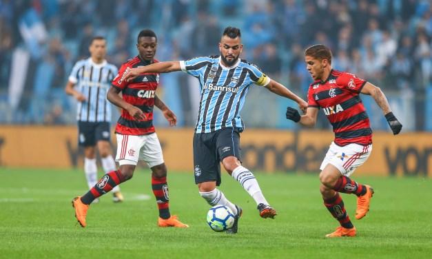 Grêmio empata com Flamengo na Copa do Brasil