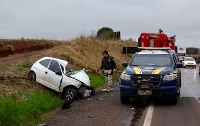 Manhã de acidentes nas rodovias do Rio Grande do Sul