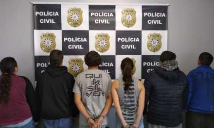 Seis pessoas são presas durante operação em Pelotas