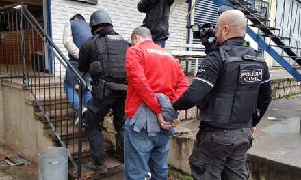 Polícia Civil deflagra operações Vespasiano e Jaguarão em 6 cidades do Rio Grande do Sul