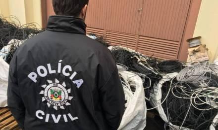 Polícia Civil realiza nova etapa da Operação Metal