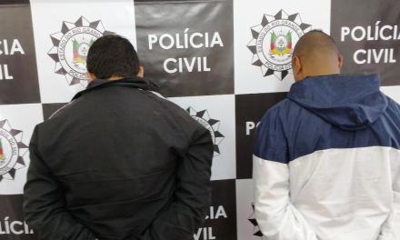 Operação Quatre prende dois suspeitos de integrarem grupo criminoso