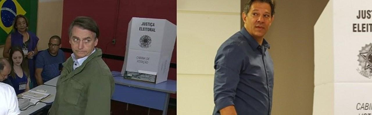 O voto dos presidenciáveis