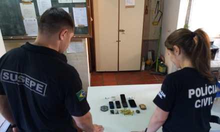 Polícia Civil deflagra fase final da Operação Faxina no centro do Estado