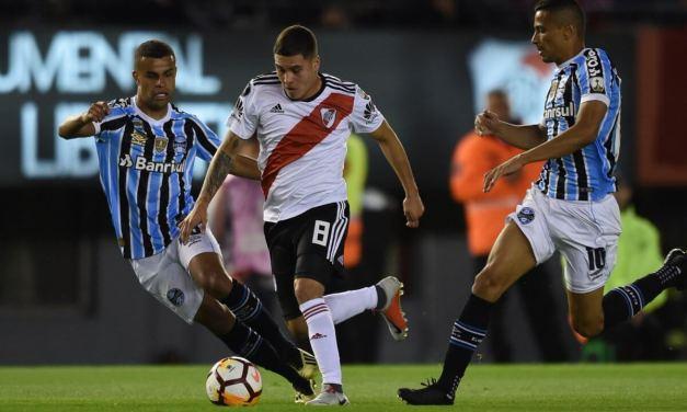 Grêmio vence River na Argentina e traz vantagem para Porto Alegre