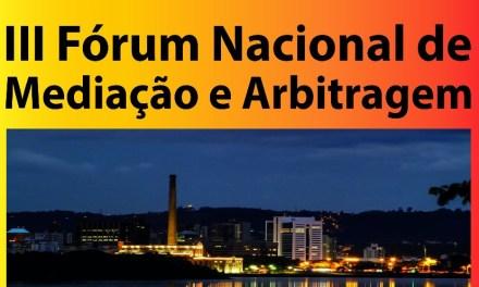 III Fórum Nacional de Mediação e Arbitragem será realizado em Porto Alegre