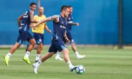 As boas notícias do treino do Grêmio