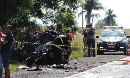 Estradas gaúchas têm vítima fatal e incêndio nesta segunda-feira
