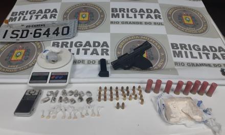 Operação da Brigada Militar apreende 129 cartuchos em Sapucaia do Sul