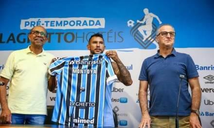 Do outro lado: Montoya se prepara para enfrentar o Rosário Central na Libertadores