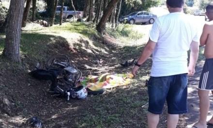 Motociclista morre em acidente na ERS-235