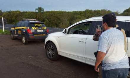 Operação Carnaval: PRF prende 3 condutores embriagados em Santa Maria