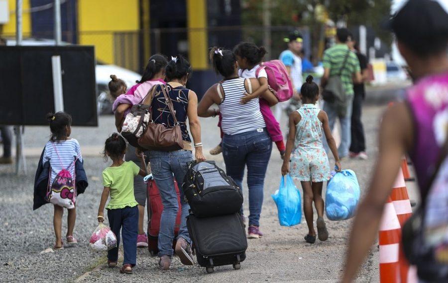 Novo grupo de venezuelanos chega a Porto Alegre