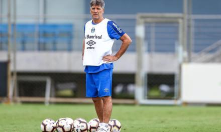 Renato terá Michel no time titular e Tardelli no banco contra o Libertad