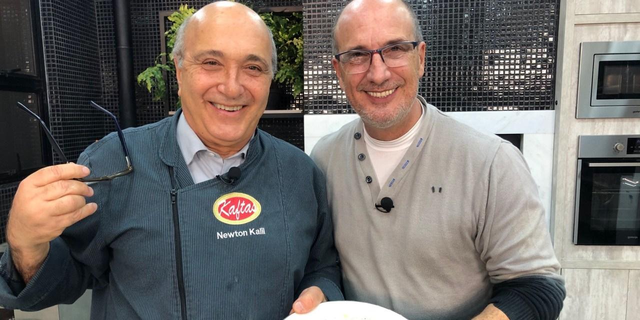 Ribeiro Neto é chef por um dia no Gourmets na TV