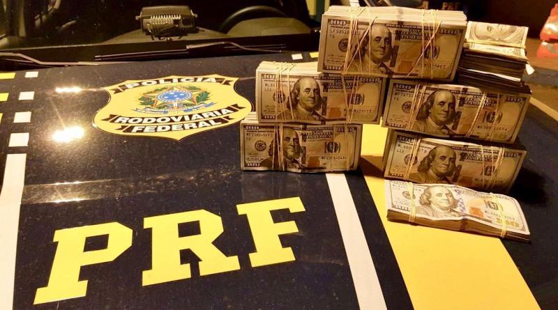 PRF apreende mais de 250 mil dólares em Sarandi