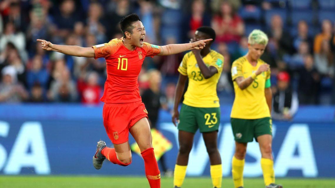 China vence na segunda rodada do Mundial