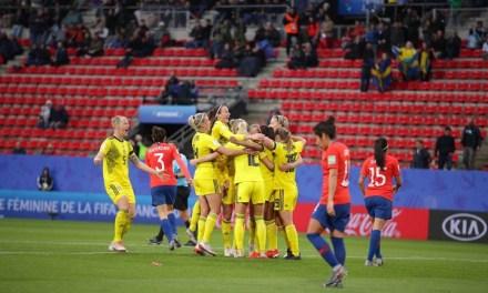 Suécia vence Chile pelo Grupo F da Copa do Mundo
