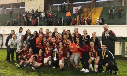 Gurias Coloradas conquistam o campeonato gaúcho Sub-18