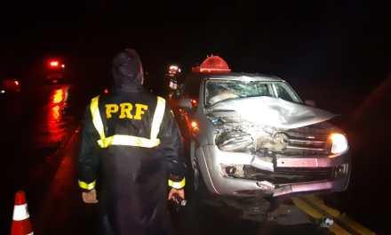 Acidentes em estradas federais deixaram uma vítima fatal e 59 feridos no fim de semana