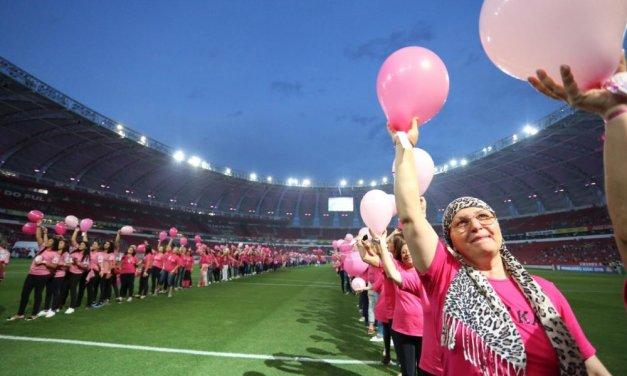 Outubro Rosa: 10 mil coloradas terão acesso livre em partida de Inter x Vasco