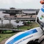 Flanelinhas são detidos pela Guarda Municipal na Orla