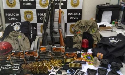 Polícia Civil apreende armas e munições em Novo Hamburgo