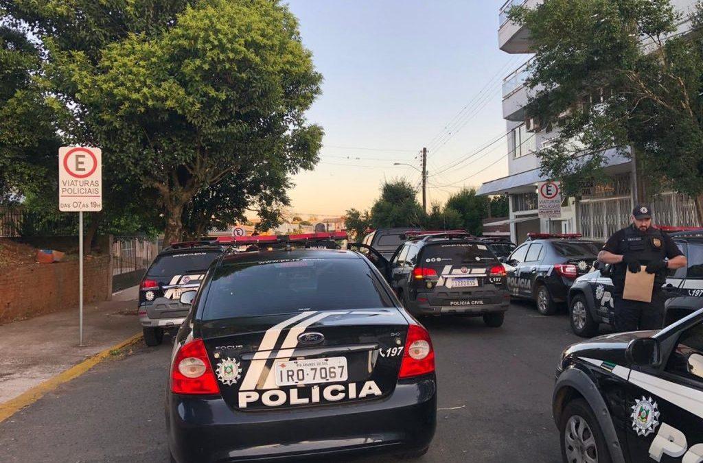 Operação Origem investiga presos de Erechim e Porto Alegre