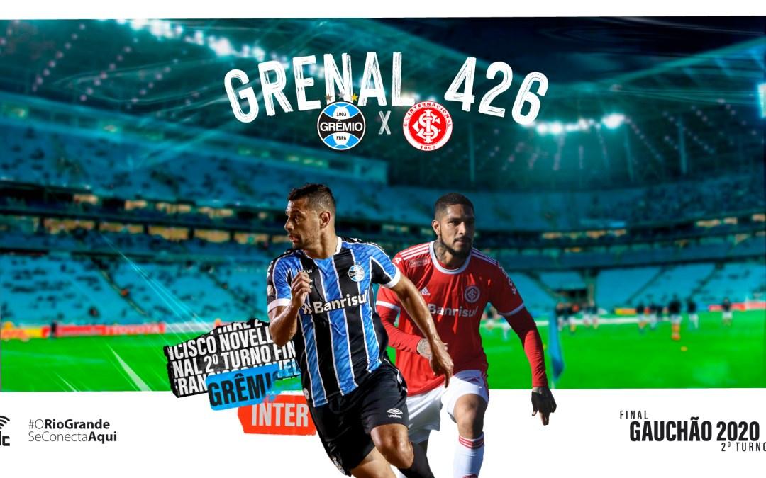 Os detalhes do clássico GreNal 426