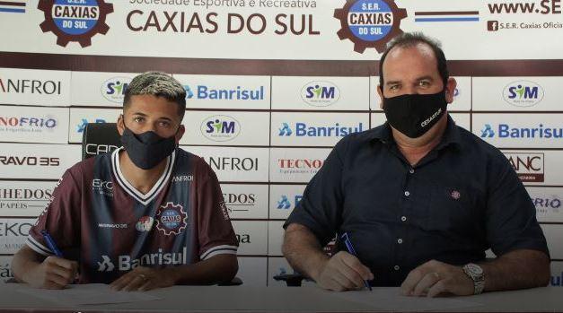 Caxias anuncia reforços para a temporada 2021