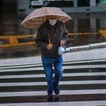Defesa Civil alerta para chuva forte e rajadas de vento em Porto Alegre