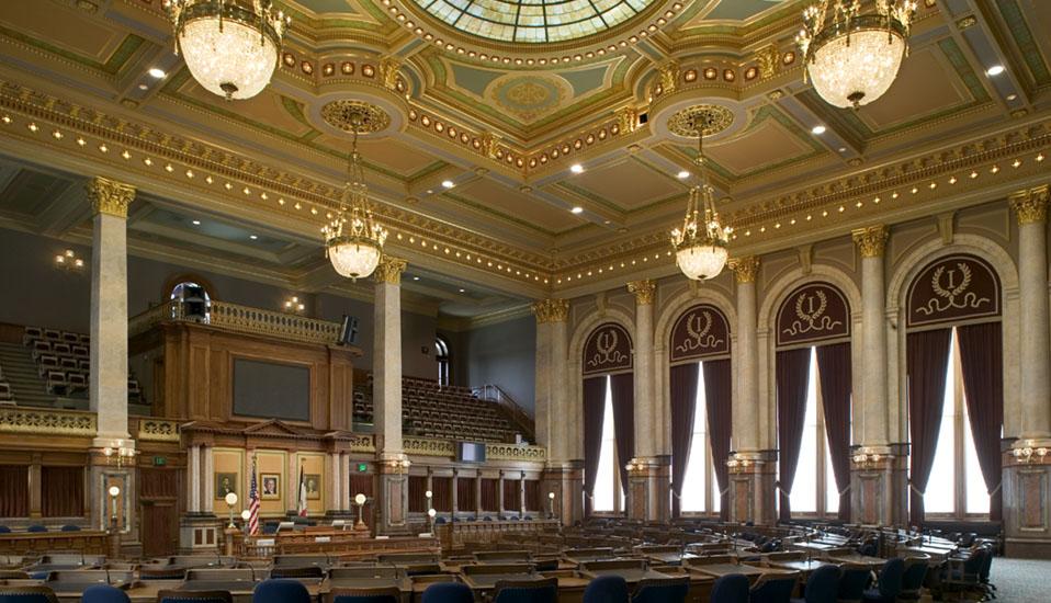 Iowa State Capitol Interior Rehabilitation And Restoration